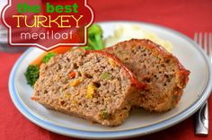 The Best Turkey Meatloaf Ever