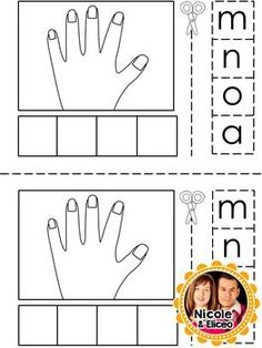 FREE  - Spanish syllables for the letter M - A mini Booklet