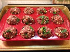 Meatloaf Muffin Tin