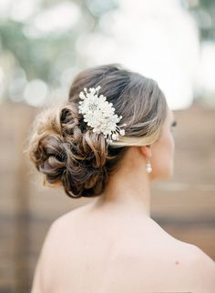 wedding hair pearl, hairstyl, hair accessories, crystal hair