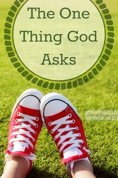 The One Thing God Asks - TriciaGoyer.com