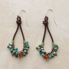 TURQUOISE TANGO EARRINGS - Sundance Catalog