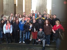 Outside The British Museum!