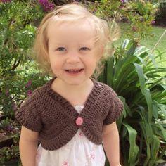 Every girl needs a couple of these! little girls, crochet motif, shorti sweater, sweater patterns, holland, design patterns, crochet sweaters, boleros, crochet patterns