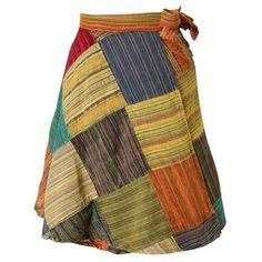 Pastel Patchwork Skirt