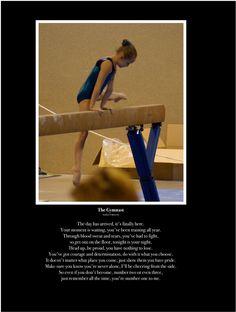 The gymnast poem.