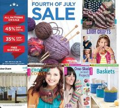 Leisure Arts 4th of July Blowout sale save up to 45% off