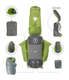THE COOLEST NEW PACK!!! Kelty TraiLogic Collection - Intuitive Lightweight Backpacking Gear