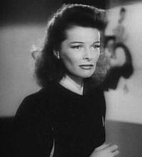 Katharine Hepburn in trailer for Stage Door Canteen