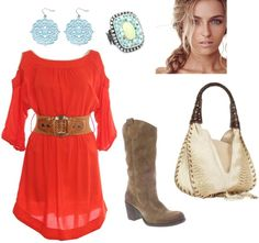 """""""A little bit country"""" by michlee on Polyvore"""