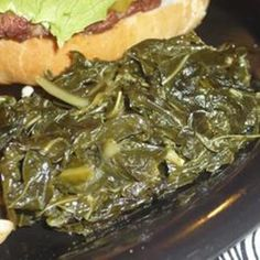 Southern Collard Greens, these sound good but I think I have mastered mine. :)
