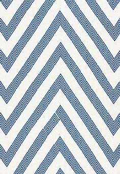 greek key chevron by schumacher - love.