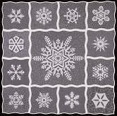Winter Wonderland Quilt Pattern   Snowflake Quilt