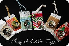 Magnet gift tags