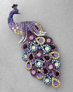 stunning-swarovski-crystal-peacock-