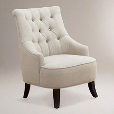 One of my favorite discoveries at WorldMarket.com: Cute-as-a-Button Erin Chair