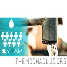 Wrap your mind around this...  $9 provides clean water for 9 Africans for a year!  #smallsacrificesBIGimpact