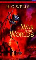 Mankind finds itself in a fight for its very survival when invaders from Mars land on Earth. Using their vastly superior technology the Martians make short order of all the great powers of Earth, laying waste to everything in their path. The novel follows an unnamed man as he flees for his life while trying to locate his wife in the shattered ruins of Earth.