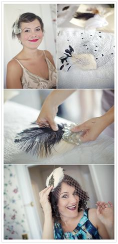 Inspiration for my Great Gatsby headpiece. Love a themed party!