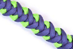 How to make a Survival Paracord Bracelet - Crooked Half Hitch - BoredPar...