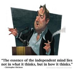 Christopher Hitchens on the independent mind