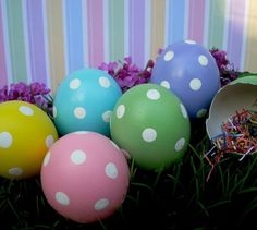 Cascarones (Confetti Eggs) from Gracie's Eggies on Etsy.