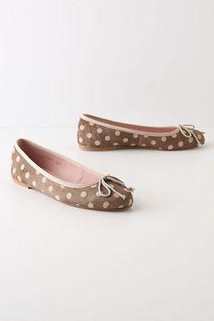 Cute polka dot shoes