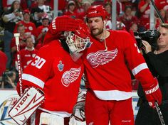 Darren McCarty and Chris Osgood - 2008