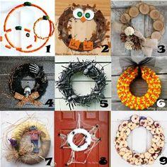 Link Love: Homemade Wreaths for Fall