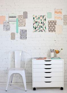pattern inspiration wall
