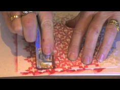 crafters workshop stencils to make journal backgrounds