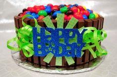 Birthday cake cones