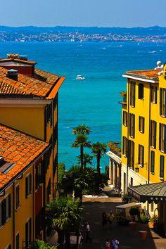 Seaside, Sirmione, Italy photo via allthings - Blue Pueblo