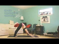 20 min morning yoga for hips and shoulders