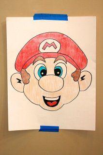 Pin Mustache on Mario
