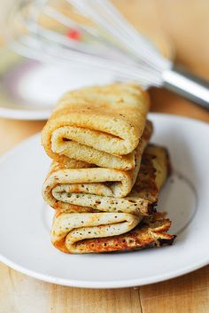 How to make gluten free crepes by JuliasAlbum.com