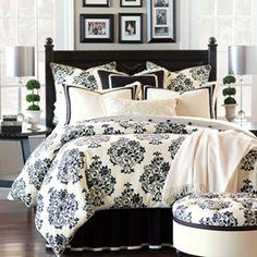 Evelyn Floral Damask Bedding collection