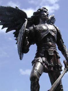St. Michael the Archangel, defend us in this day of battle.   Warrior Culture