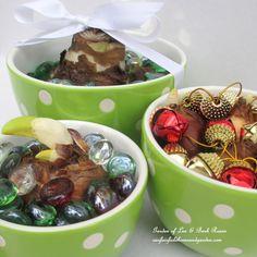 Colorful bowls make