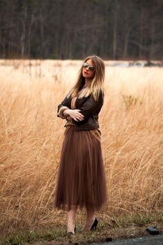 when brown is already your favorite color. and i need some tulle skirts