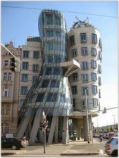 Incredible Houses -Dancing House - Prague