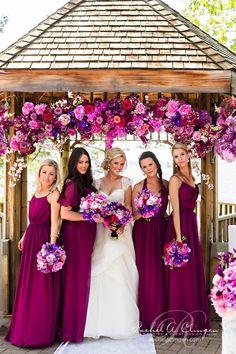 bridesmaids colors, magenta bridesmaid dress, orchid bridesmaid dresses, bridesmaid colours, color dress wedding