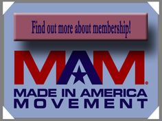 The Made in America Movement ~~ They have a list of members/vendors with links so you can easily source & purchase American  made products :)