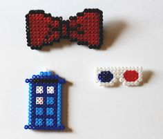 Doctor Who Perler Bead Crafts