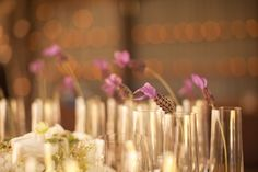 Simple wedding centerpieces. Allyson Magda Photography. Wedding Coordination by All Traditions.
