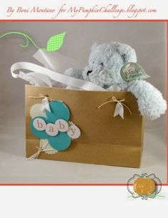 Sweet Baby - In the Bag - My Paper Pumpkin Kit - Stampin Up
