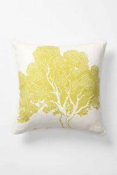 Faux Bois Pillow, Beech