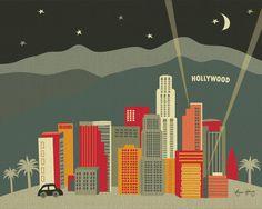 Los Angeles Etsy