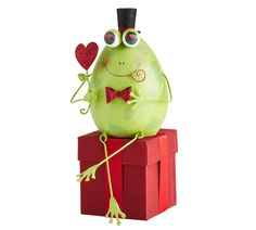 Pier 1 Dapper Frog Decor is dressed to impress frog princ, boot, valentine day, frog decor, dapper frog, pier, frogs