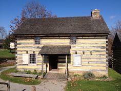 Hanna's Tavern, #HistoricHannasTown #Greensburg #PA  http://www.westmorelandhistory.org